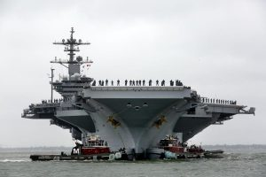 Aircraft Carrier USS Abraham Lincoln Serves as Location for Top Gun' Sequel