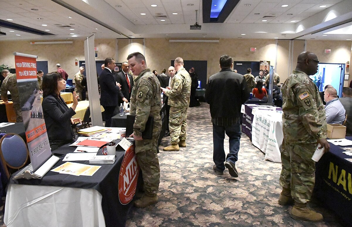 soldiers job fair