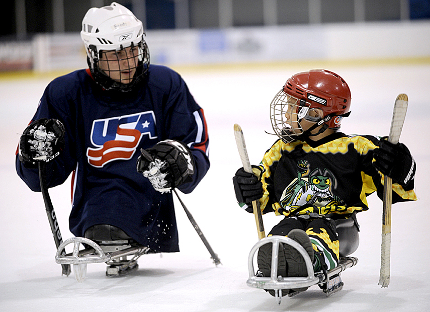 Adaptive Sports Hockey Fisher House