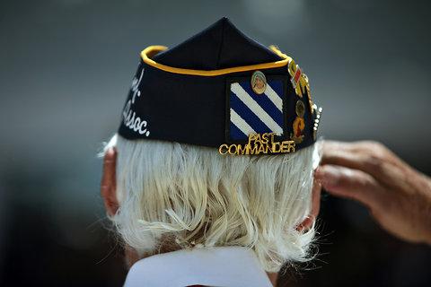past commander salute