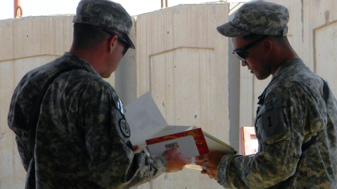 soldiers ready for holiday deployment