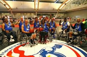 Veteran wheelchair games