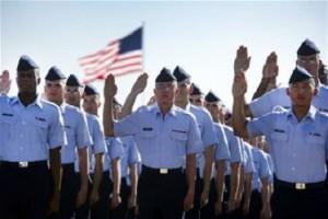 USAF basic training