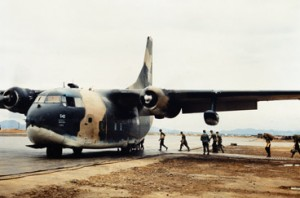 Military Connection: Fairchild C-123 aircraft
