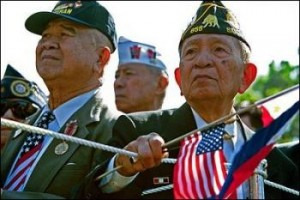 Military Connection: filipino veterans