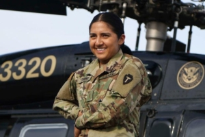 Army National Guard Pilot Reaches Lofty Heights