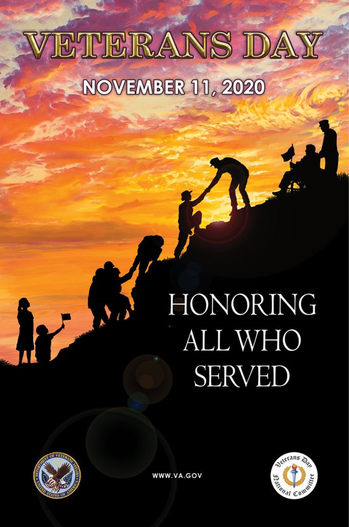 National Veterans Day Poster Contest 2020 Winner