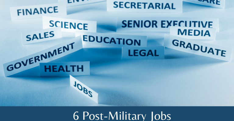post military jobs
