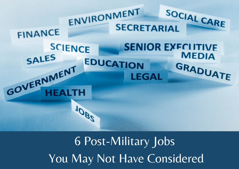 post military jobs