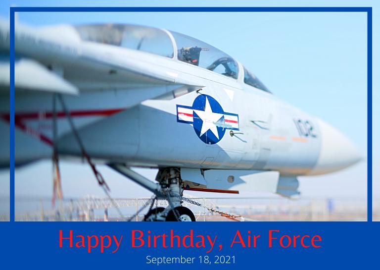 Air Force Birthday 2021