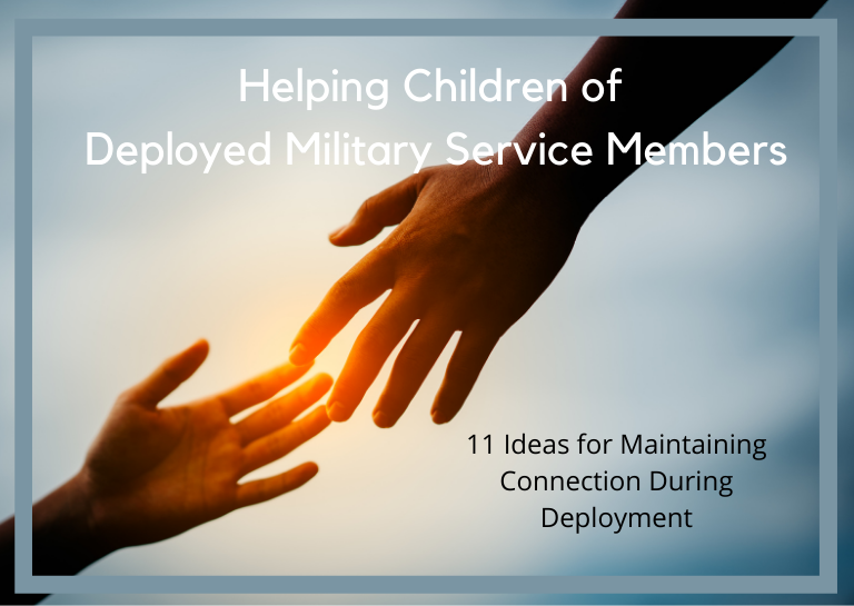 how to help a child cope with deployment