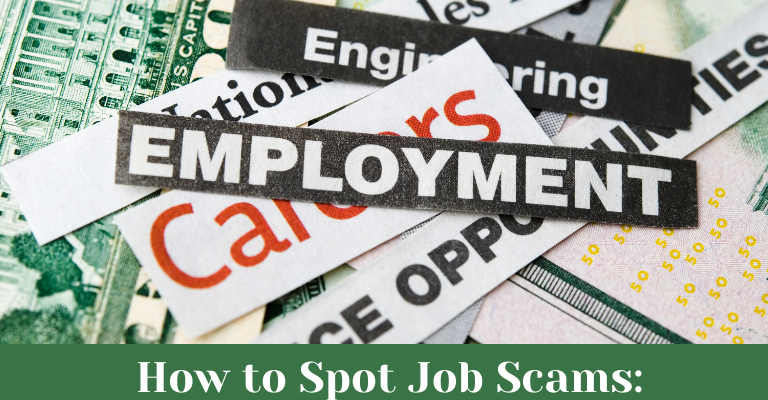 How to Spot Job Scams
