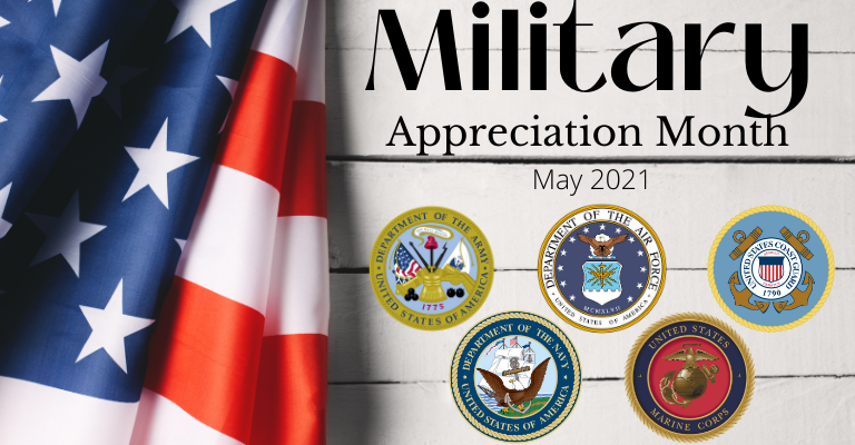 Military Appreciation Month 2021