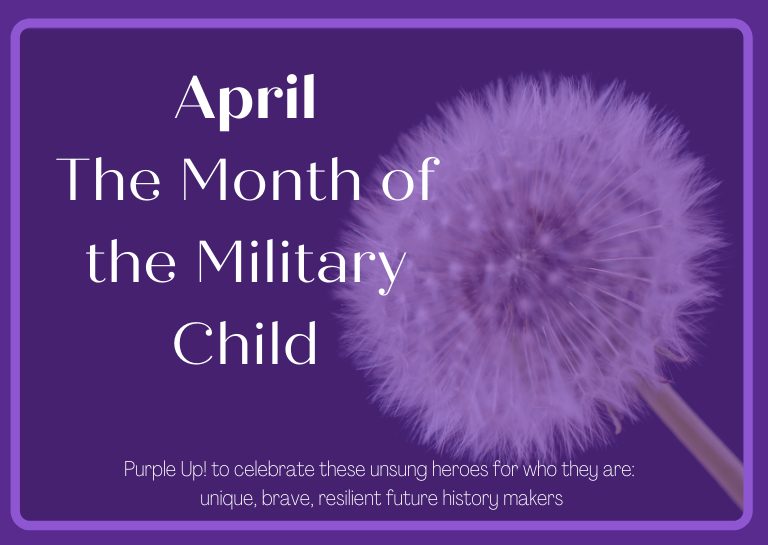 month of the military child 2021