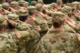 saluting soldiers
