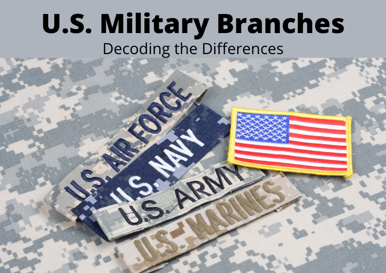 difference between military branches