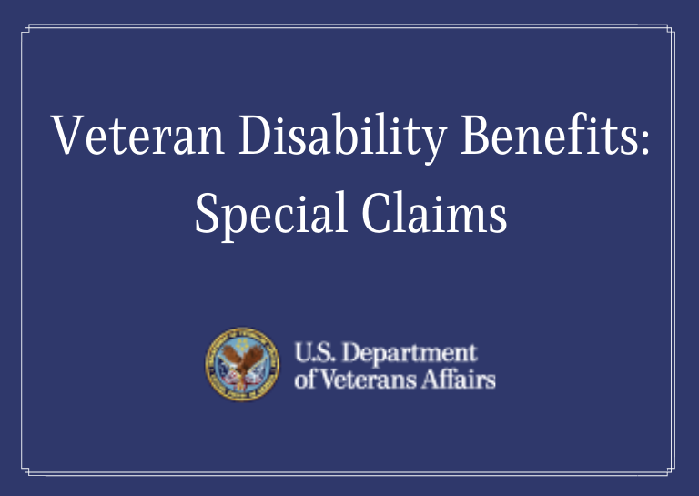 veteran disability special claims