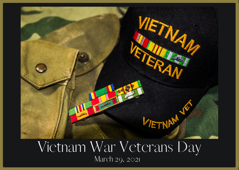 Vietnam War Veterans Day 2021