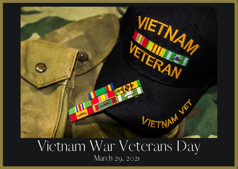 Vietnam War Veterans Day 2021
