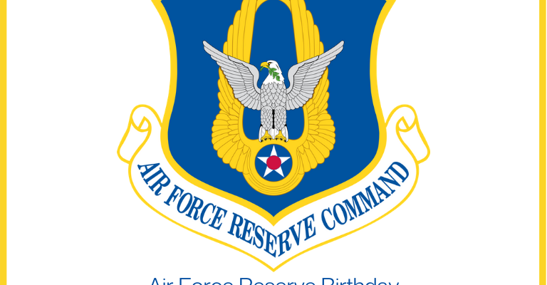 Air Force Reserve Birthday