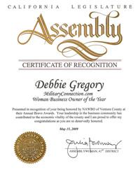 Assembly Award