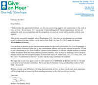 Give an Hour - A Celebration Of Service