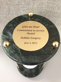 Give an Hour - Commitment to Service Award