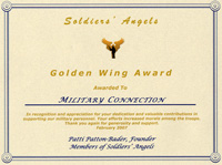 Soldier's Angels Award