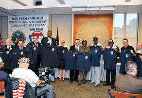 """One Team Chicago"" — Joining Forces to Defeat Veteran Homelessness"