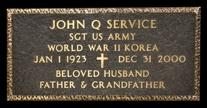 veterans grave markers