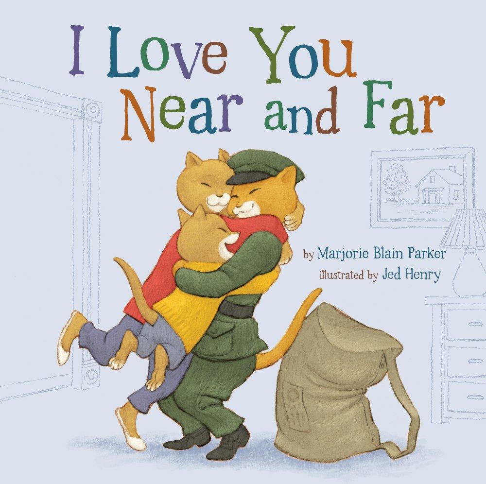 Love you near and far book
