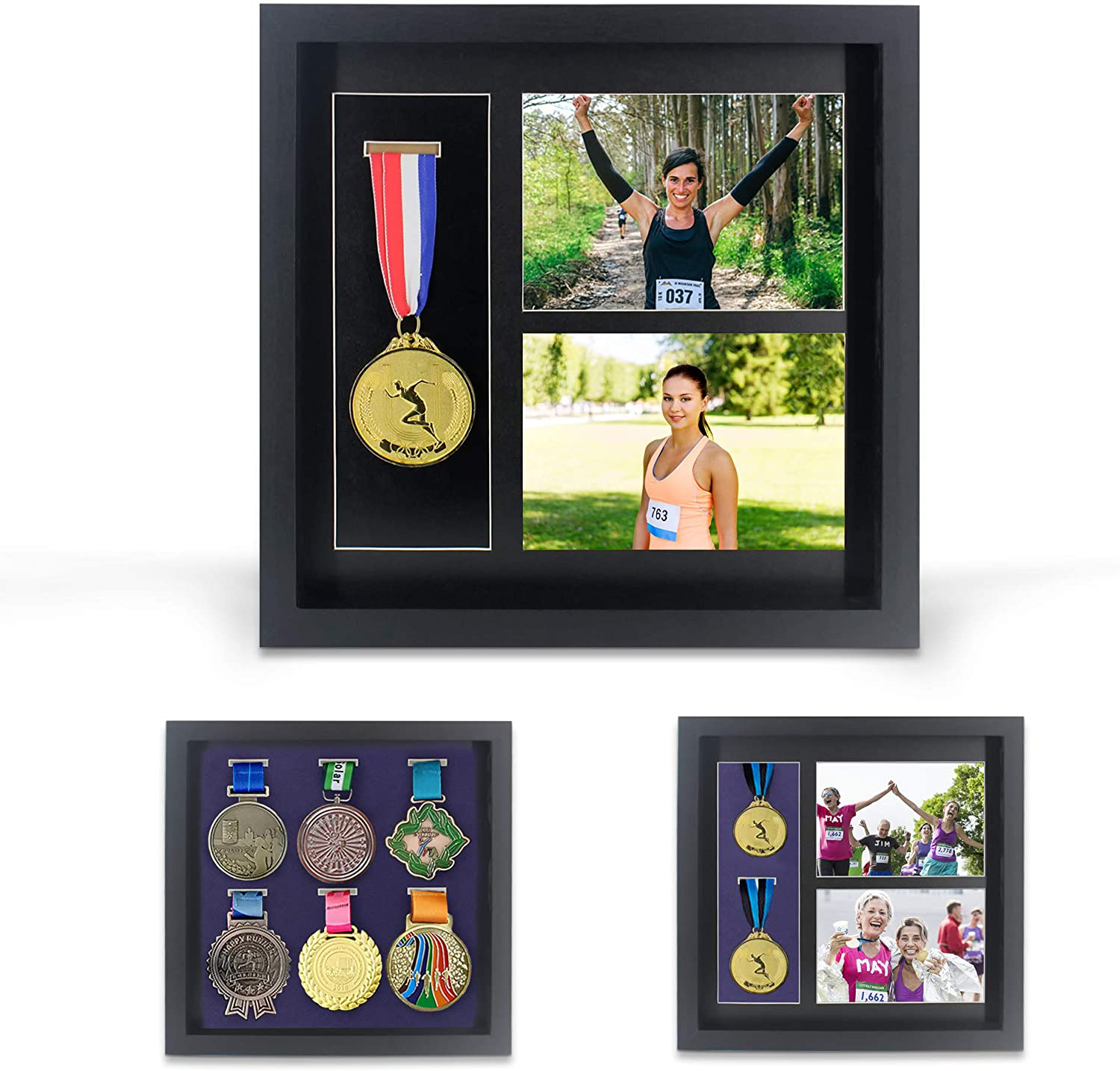 medal and photo frame