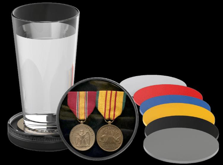 Medal Display Coaster