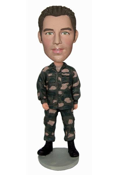 Military bobblehead