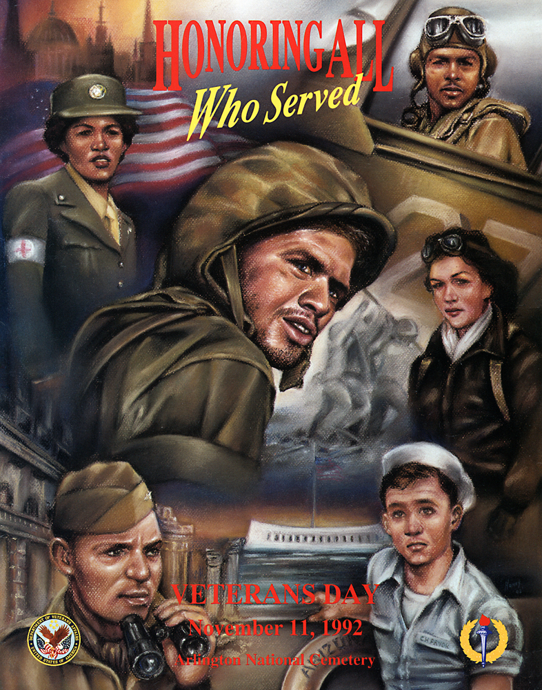 National Veterans Day Poster Contest - 1992 Winner