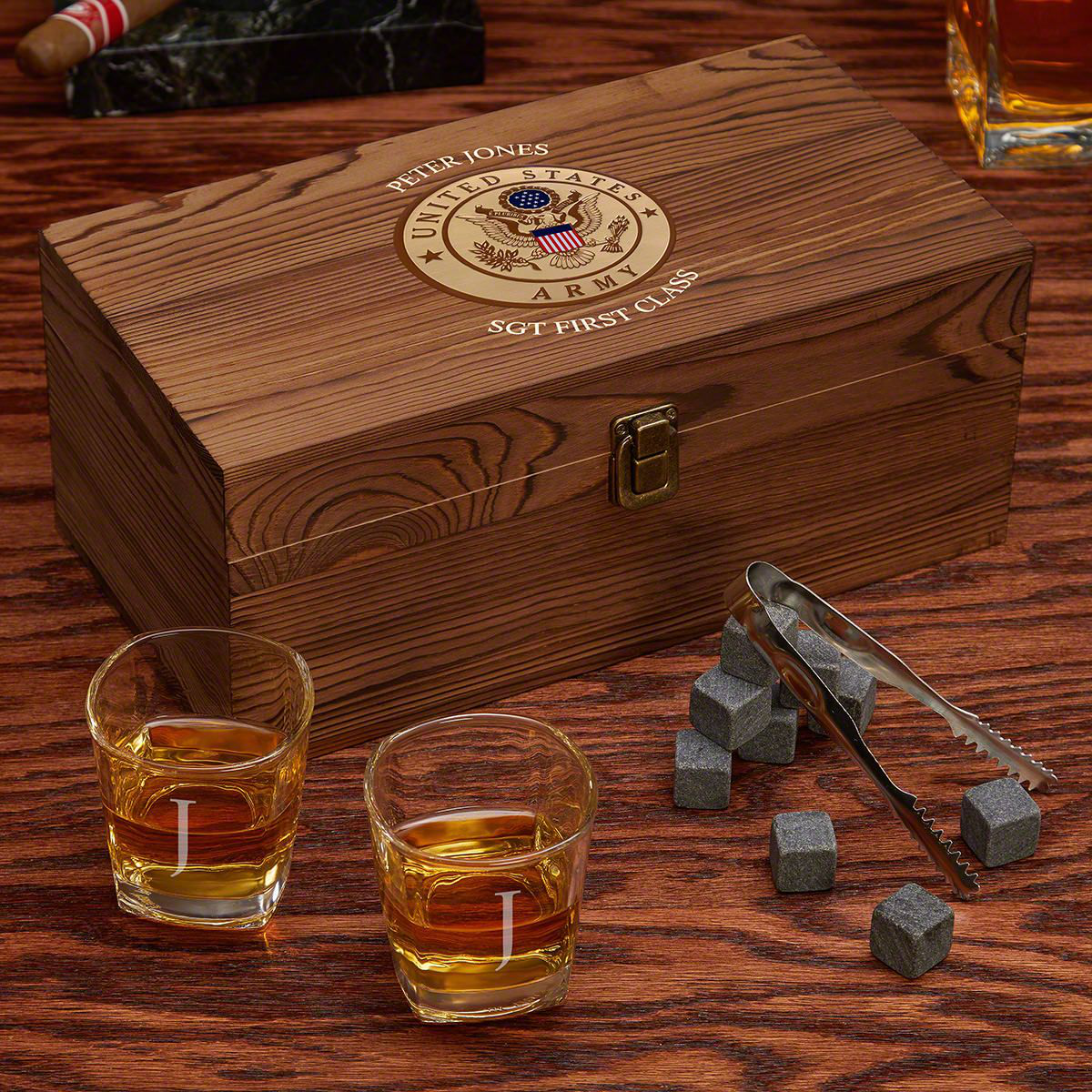 Whiskey box military
